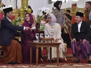 Jokowi dan Jusuf Kalla Rayakan Lebaran di Kampung Halaman