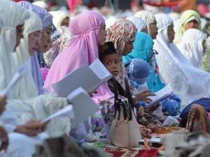 Tarekat Syattariyah Magetan Salat Idul Fitri Hari Ini