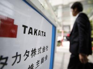 Takata Ajukan Kebangkrutan di AS dan Jepang