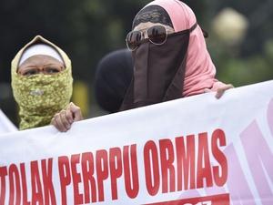 Rapat Paripurna Perppu Ormas Berjalan Sedikit Memanas