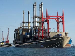 Kapal Pembangkit Listrik Terapung