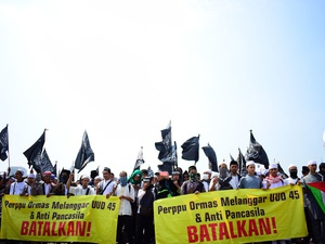 Yusril Ajak Penolak Perppu Ormas Berbarengan Ajukan JR ke MK