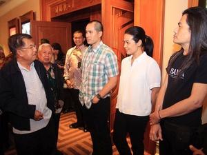 """Tanggapan Jusuf Kalla Usai Nonton Film """"Banda"""""""