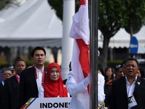 Indonesia Kirim Nota Protes Terkait Insiden Bendera Terbalik