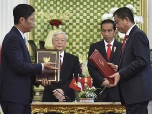 Indonesia Anggap Vietnam Mitra Dagang Strategis