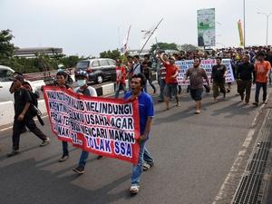 Pemberlakuan Sistem Satu Arah Rugikan Pedagang di Depok