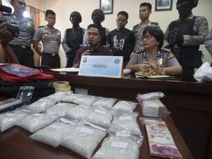 Polisi Cegah Pengiriman 225,5 kg Narkoba ke Karawang