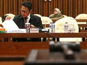 KPK Belum Terima Permint   aan Polri Soal Penarikan Aris Budiman