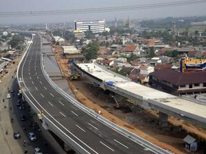 Progres Pembangunan Tol Becakayu