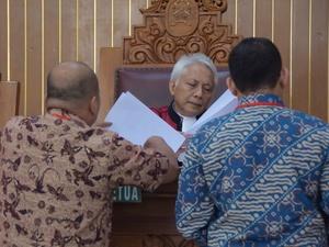 Sidang Perdana Praperadilan Setya Novanto