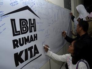 LBH Jakarta Kembali Beraktivitas