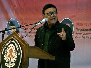 Rapat Pandangan Fraksi untuk Perppu Ormas Ditunda