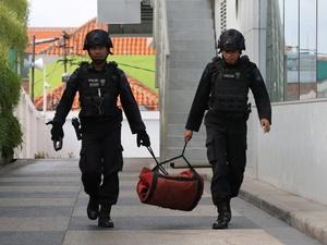 Polsek Bontoala Dilempar Bom di Awal Tahun, Kapolsek Jadi Korban