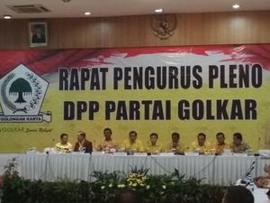 Azis Syamsuddin Sebut Rapat Pleno Tak Bisa Tentukan Jadwal Munaslub