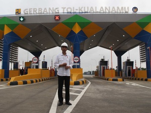 Pemerintah Sudah Bangun Jalan Tol 332 KM Hingga November 2017
