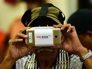 Pemantauan Pelantikan Anies-Sandi Via VR