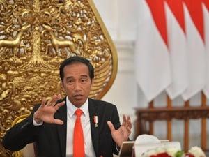 Demo Cantrang di Istana Saat Presiden Jokowi Reshuffle Kabinet