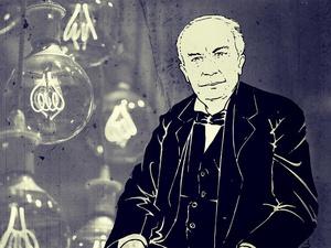 Thomas Alva Edison - Mozaik Tirto