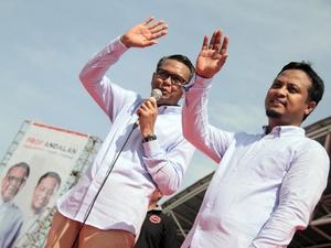 Nurdin Abdullah-Andi Sulaeman Resmi Maju di Pilkada Sulsel 2018