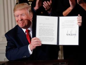 Donald Trump Tuding Korea Utara sebagai Negara Pendukung Terorisme