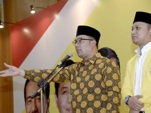 DPD Golkar Harus Punya Alasan Cabut Dukungan untuk Ridwan Kamil