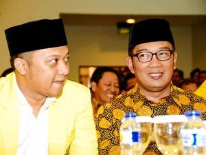 Golkar Resmi Usung Ridwan Kamil di Pilkada Jabar 2018