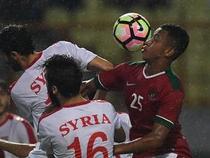 Hasil Timnas Indonesia vs Suriah Skor Akhir 0-1