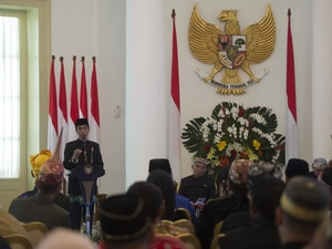 Presiden Jokowi Tiba di Lombok Hadiri Munas Alim Ulama-Konbes NU