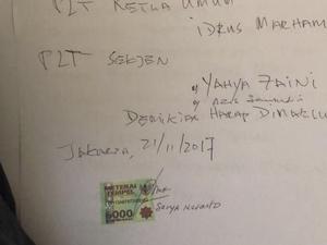 Lewat Surat, Setya Novanto Meminta Golkar Tidak Memecatnya
