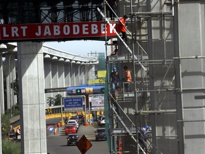Gotong Royong Membiayai Proyek LRT Jabodetabek