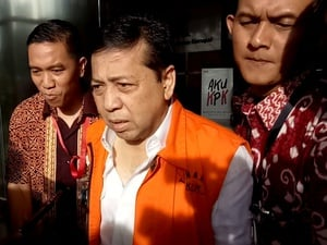 Setya Novanto Enggan Komentari Soal Pemeriksaan Dwina Michaella
