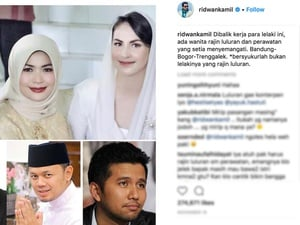 Di Balik Komentar-Komentar Post Instagram Ridwan Kamil