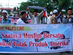 Aksi Bela Palestina: Ketua MUI Berorasi Kecam Donald Trump