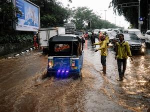 Banjir Jakarta Hari Ini: Anies Baswedan Tuding Bawahannya Teledor