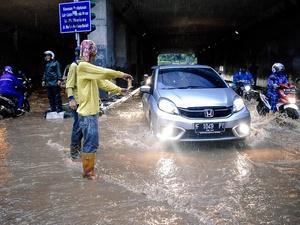 BMKG: Jakarta Terancam Banjir pada Januari 2018