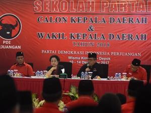 PDIP Deklarasikan Cagub-Cawagub Papua, Lampung, Maluku Utara & NTB