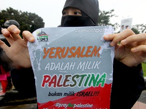 Palestina Berterima Kasih atas Dukungan Indonesia