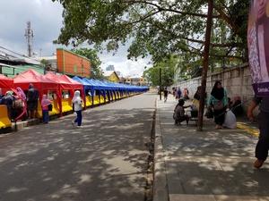 Penutupan Jalan Jatibaru Tanah Abang Melanggar Aturan Lalu Lintas?