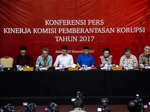 Laporan Kinerja KPK Selama Tahun 2017
