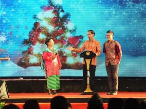 Politik Perayaan Natal ala Jokowi