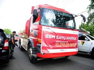 BPH Migas Targetkan Bangun 73 Penyalur BBM Satu Harga di 2018
