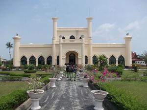 Pembakar Diorama Istana Siak Diduga Alami Gangguan Jiwa