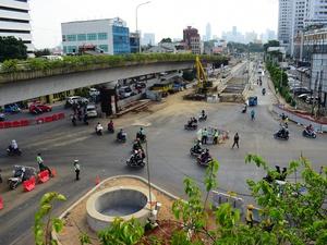 Pembangunan Underpass Matraman Molor