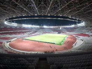 Rusaknya Stadion GBK Usai Final Piala Presiden 2018 Dianggap Wajar