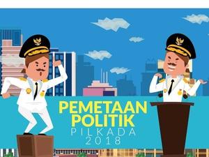 Saat PDIP, Gerindra, PKS, PAN Berkoalisi dalam Puluhan Pilkada
