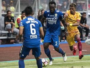 Hasil dan Klasemen Grup A Piala Presiden Selasa 16 Januari 2018