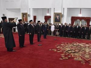 Jumlah Kekayaan 4 Pejabat yang  Baru Dilantik Jokowi