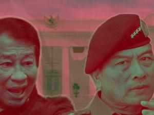 Para Jenderal Penasihat SBY dan Jokowi
