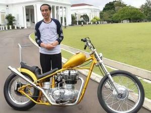 Celah Pelanggaran Motor Chopper Jokowi Bila Dipakai di Jalan Raya