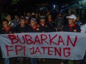 Jejak Aksi-Aksi Tolak FPI di Berbagai Daerah